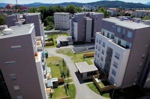 Naselje Atrium zelena jama, Ljubljana